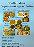 South Indian Vegetarian Cooking set (5 DVDs)