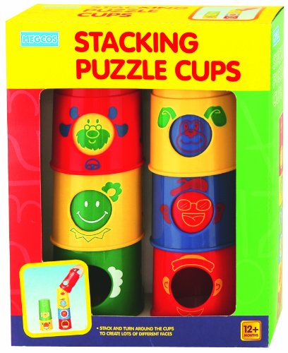 megcos Stacking Puzzle Cups