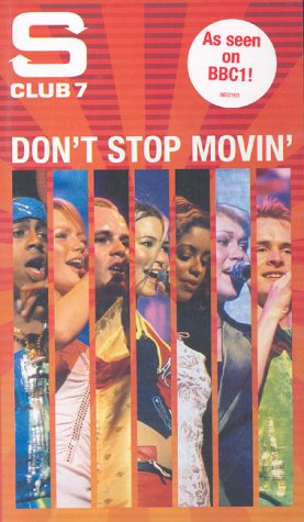 s-club-7-dont-stop-movin-vhs