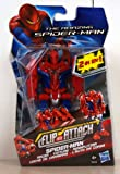 THE AMAZING SPIDER-MAN FLIP AND ATTACK SPIDER-MAN 2 IN 1 RACER FIGURE PACK NEW