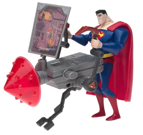 Justice League Mission Vision Superman Figure