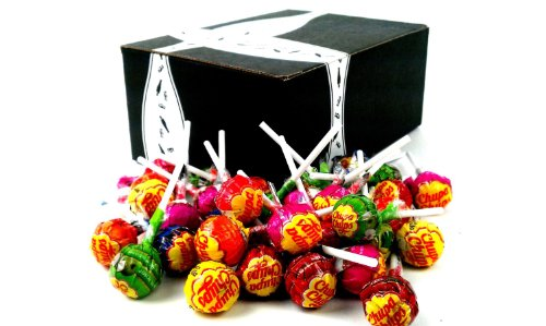 Chupa Chups Lollipops Assorted 1Lb In A Gift Box front-913968
