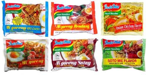 Indomie Variety Pack - 1 Case (30 Bags) | shopswell