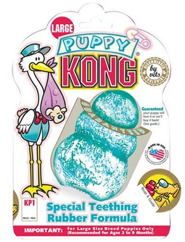 Kong Medium Puppy Toy, Colors may vary