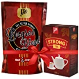 Leo Coffee Degree Blend 500 Grams + Leo Strong Tea Combo