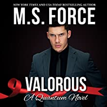 Valorous: Quantum Series, Book 2 Audiobook by M.S. Force Narrated by Brooke Bloomingdale, Cooper North