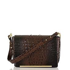 Hudson Shoulder Bag<br>Cocoa Melbourne