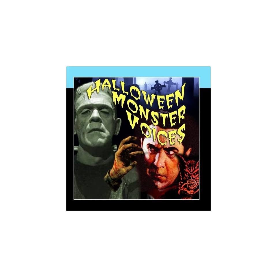 Halloween Monster Voices Scary Monsters Music