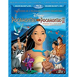 Pocahontas Two-Movie Special Edition (Pocahontas / Pocahontas II: Journey To A New World) (Three-Disc Blu-ray/DVD Combo in Blu-ray Packaging) (Spanish Version)