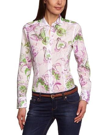 Jacques Britt Damen Bluse, 61.222022 Casual Bluse 1/1 lang, Gr. 38 (S), Rosa (48 - rosé bunt)