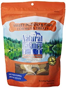 Natural Balance Sweet Potato and Fish Formula Dog Treats, 14-Ounce Bag