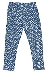 Chalk by Pantaloons Girl's Regular Fit Jegging(205000005619822, Blue, 2-3 Years)