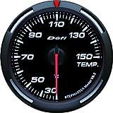 日本精機 Defi (デフィ) メーター【Racer Gauge】60φ 温度計 (ホワイト) DF11706