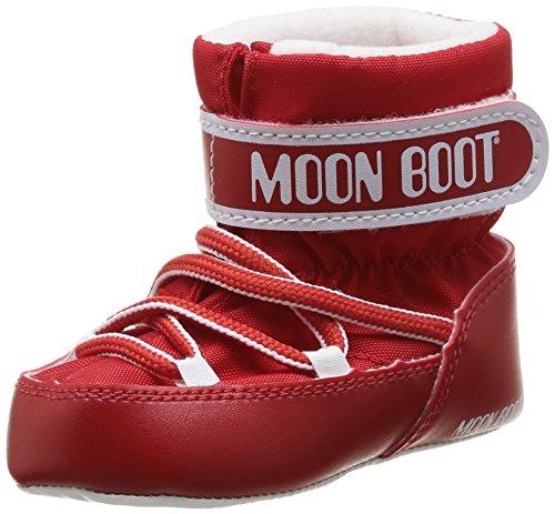 Moon Boot Crib, Scarpe per bambini, Unisex - bambino, Rosso (Rosso), 17/18