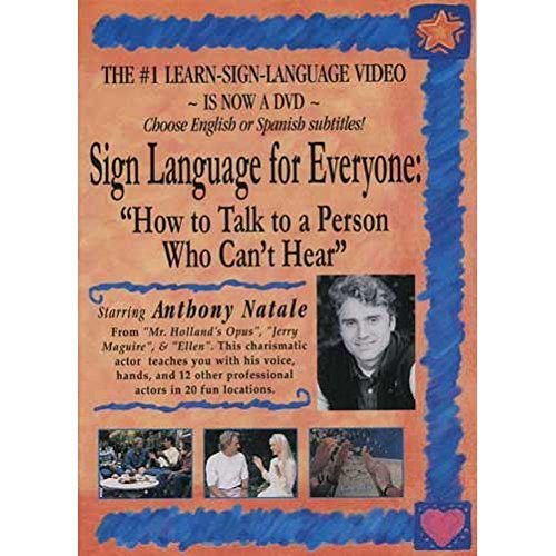 Harris Communications DVD121 Sign Language for Everyone How to Talk to a Person Who Cant Hear - DVD - 1