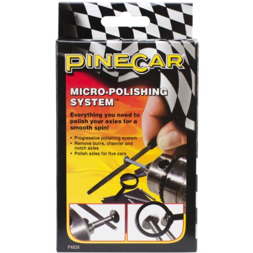 Pine Car Derby Micro-Polishing System-