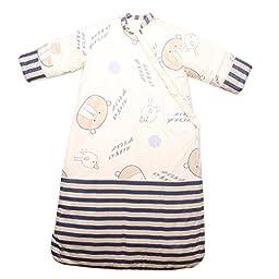 Nine States Winter Baby Sleep Sack Long Sleeves Wearable Blanket Sleeping Bag(Large/12-36 Months)