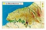 Carte en relief : Seine-Maritime