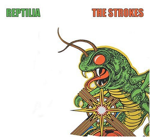 Original album cover of Reptilia / Modern Girls & Old Fashioned Men by Strokes