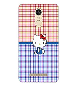 PrintDhaba Kitty D-5041 Back Case Cover for XIAOMI REDMI NOTE 3 (Multi-Coloured)