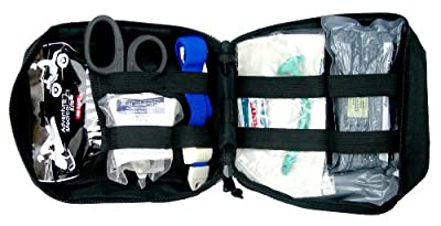 Ever Ready First Aid Meditac Tactical Trauma IFAK Kit with Trauma Pack Quickclot and Israeli Bandage in Molle Pouch from Ever Ready First Aid