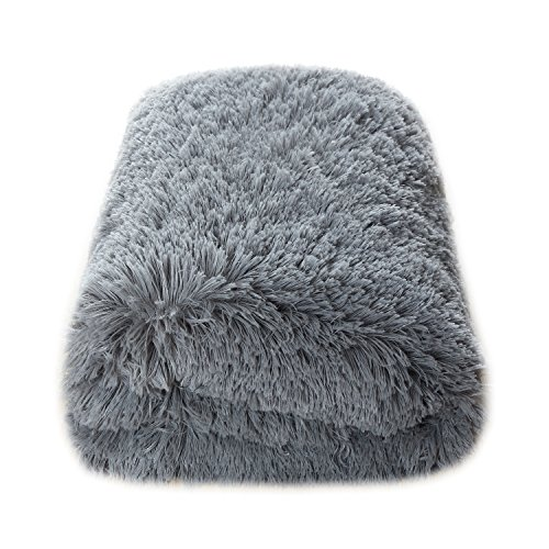 Calitime super soft throw plush faux fur 60 x 80 inches for Couch 80 inches