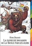 echange, troc Dino Buzzati - La Fameuse Invasion de la Sicile par les ours