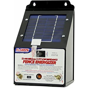 Fi-Shock solar electric fence charger