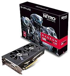 Sapphire Radeon NITRO+ RX 480 8GB GDDR5 PCI-E Graphics Card (11260-01-41G)