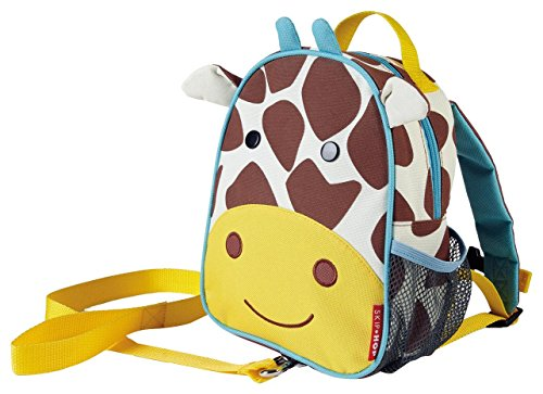 Skip Hop Zoo Little Kid & Toddler Safety Harness Backpack (Ages 2+), Multi, Jules Giraffe (Skip Hop Harness compare prices)