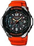 Casio - GW-3000M-4AER - G-Shock - Montre Homme - Quartz Analogique - Cadran Noir - Bracelet Résine Orange