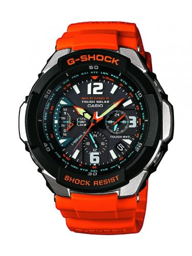 Casio G-Shock Men's Funk-Solar Collection Analogue Quartz Watch GW-3000M-4AER