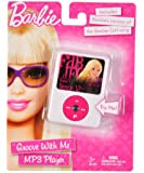 Barbie Groove with Me Mp3 Player Pretend with Barbie