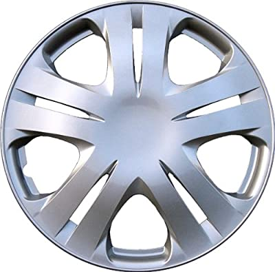 "Drive Accessories KT-1020-15S/L, Honda Fit, 15"" Silver Replica Wheel Cover, (Set of 4)"