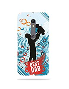 alDivo Premium Quality Printed Mobile Back Cover For Moto X Style / Moto X Style MKD063 Mobile Case/ Father's Day Customised Printed Mobile Back ...