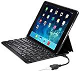Kensington KeyFolio Thin X3 iPad Air 2 Bluetooth Keyboard Case with Powerlift (K97390US)