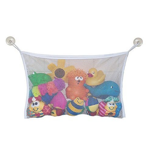 bath Toys Storage Bag - TOOGOO(R) Kids Baby Bath Toy Organizer Storage Bathroom bath Toys Bag (37*37CM)