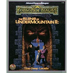 The Ruins of Undermountain II: The Deep Levels (Forgotten Realms Campaign Adventure) by Donald Bingle,&#32;Jean Rabe and Norm Ritchie