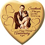 Presto Anniversary Gift Birthday Gift Love Gift Valentine's Day Gift Corporate Gift Wooden Photo Frame By Engraving...