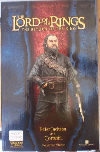 Picture of Sideshow Lord of the Rings: Peter Jackson as a Corsair (Peter Jackson) Statue by Sideshow Collectibles! Figure (B000EIDWT4) (Sideshow Action Figures)