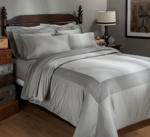 Why Should You Buy Pinzon Pleated Hem 400-Thread-Count 100-Percent Egyptian Cotton Sateen Duvet Set,...