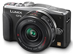 DMC-GF6XEF-K - schwarz + 14-42 mm-Objektiv - Digitalkamera