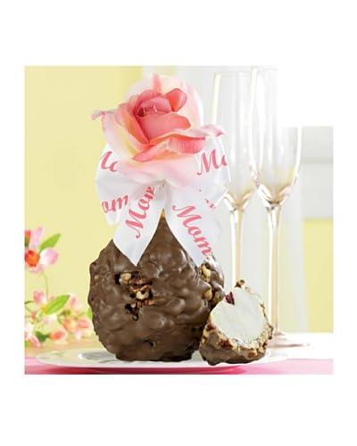 Mrs. Prindable's Mother's Day Rose Jumbo Apple Milk Chocolate Walnut Pecan