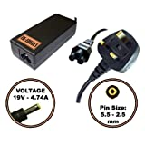UK-EDEALS® Top Quality Charger FOR MEDION AKOYA MD96330 P6613 P6620 P7610 ADAPTER CHARGER + LEAD POWER CORD Ordinateur portable Adaptateurs Chargeur Pour with LEAD POWER CORD CABLE