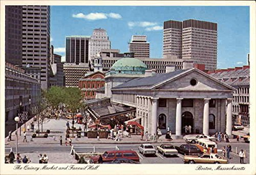 the-quincy-market-and-faneuil-hall-boston-massachusetts-original-vintage-postcard