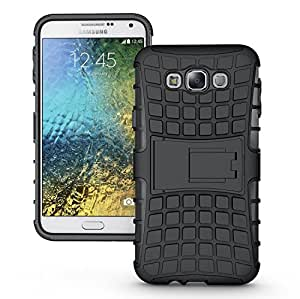 Case Design Kick Stand Back Cover For Samsung Galaxy J1 Ace-Black