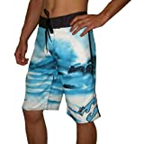 Billabong Mens Skate & Surf Boardshort - Blue & White