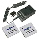 Camera Digital 2x Battery NB-6L NB-6LH and 1x Travel Charger For Canon PowerShot SX510 HS, SX500 IS, SX700 HS, SX280 HS, SX260 HS, SX170 IS