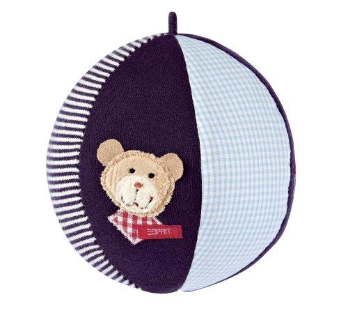 Imagen principal de ESPRIT by sigikid 53452 Classic Bear - Pelota de peluche con sonajero [Importado de Alemania]