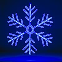 Christmas Workshop 71400 60 cm Snowflake LED Rope Light - Blue/White by Benross Group